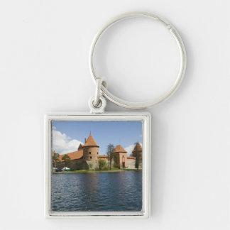 リスアニア、Trakai。 島の城3 キーホルダー