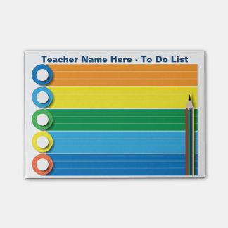 リスト-名前入りなポスト・イット--をする虹 ポストイット