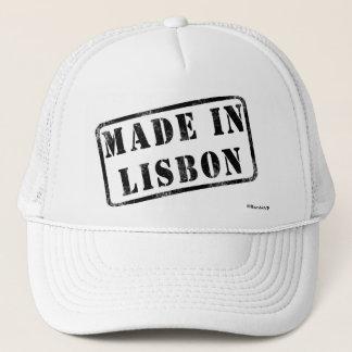 リスボンで作られる キャップ