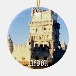 リスボンのクリスマスのオーナメント セラミックオーナメント