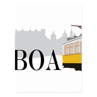 リスボンの市街電車 ポストカード