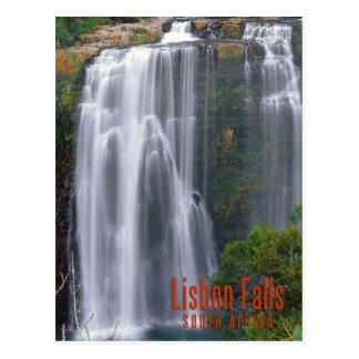 リスボンの滝、南アフリカ共和国 ポストカード