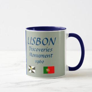 リスボンの発見記念碑のマグ マグカップ