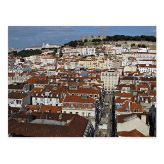 リスボンの都市眺め ポストカード