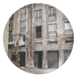 リスボン(都市上品)のメラミンプレート プレート