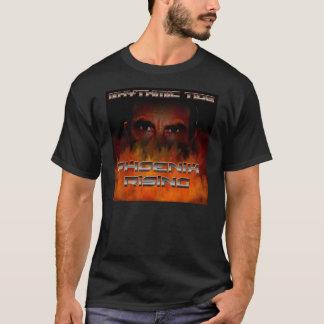 リズミカルな潮「フェニックス上昇の」のTシャツ Tシャツ