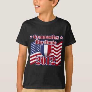 リズミカルな2012年の体操 Tシャツ