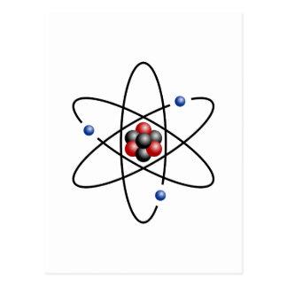 リチウム原子の元素李の第3 ポストカード