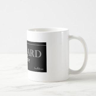 リチャードのサロンのロゴのマグ コーヒーマグカップ