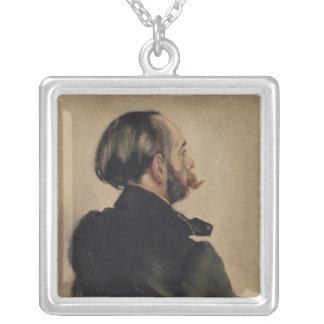 リチャードの芸術家1860年の兄弟 シルバープレートネックレス