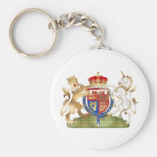リチャードライオンのハートの紋章付き外衣 キーホルダー