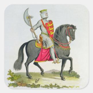リチャード一世の(1157-99年)イギリス国王、1194年、から「 スクエアシール