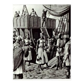 リチャード一世聖地のための帆、1939年をセット ポストカード
