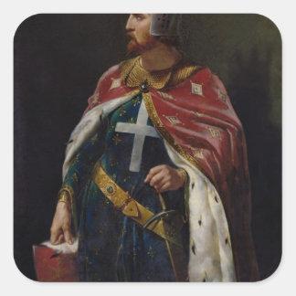リチャード一世1841年Lionheartのイギリス国王 スクエアシール