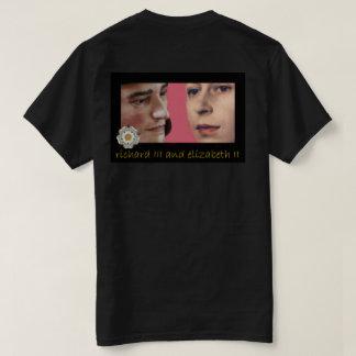 リチャード三世および若いエリザベスのポートレートII Tシャツ