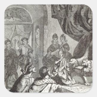 リチャード二世へのフランスのなプリンセスの婚約 スクエアシール