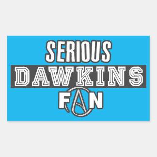 リチャード深刻なDawkinsファン-無神論 長方形シール