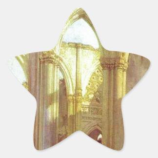 リチャード著St Omerの近くのSt.ベルリンの大修道院、 星シール
