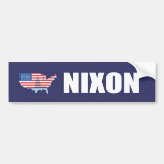 リチャード・ニクソンの選挙のギア バンパーステッカー