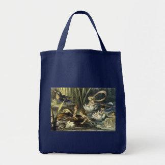 リチャードDoyle著妖精および《植物》スイレンのトート トートバッグ