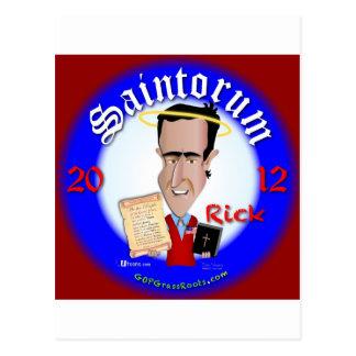 リックSaintorum ポストカード
