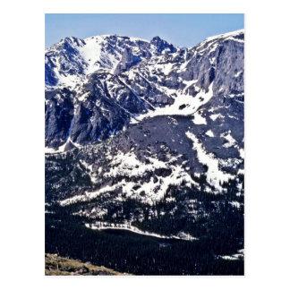 リッジの試験の道-ロッキー山国立公園 ポストカード