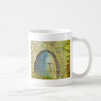 リッジの青いトンネル コーヒーマグカップ