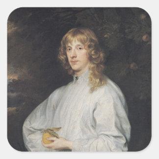リッチモンドおよびLennoxのジェームススチュワート公爵 スクエアシール