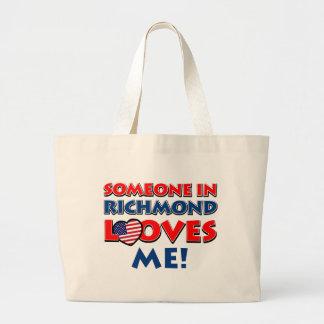 リッチモンドのデザイン ラージトートバッグ