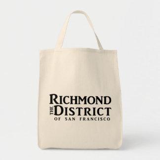 リッチモンドのブログの食料雑貨のトート- URL無し トートバッグ