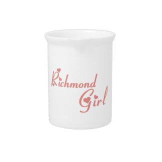 リッチモンドの丘の女の子 ピッチャー
