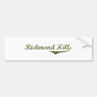リッチモンドの丘 バンパーステッカー