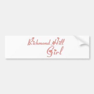 リッチモンドの女の子 バンパーステッカー