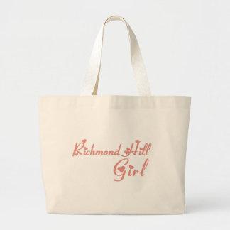 リッチモンドの女の子 ラージトートバッグ