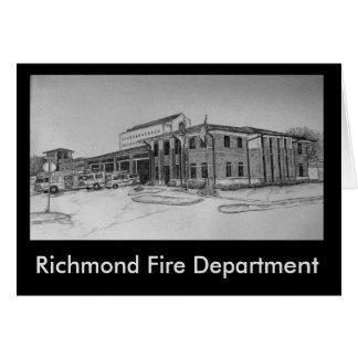 リッチモンドの消防署 カード