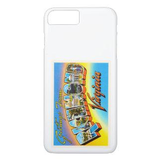 リッチモンドヴァージニアVAの古いヴィンテージ旅行郵便はがき iPhone 7 PLUSケース