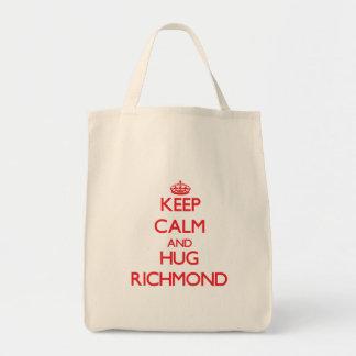 リッチモンド穏やか、抱擁保って下さい トートバッグ