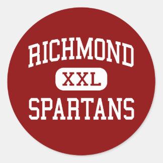 リッチモンド- Spartans -高リッチモンドミズーリ ラウンドシール