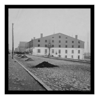 リッチモンド、VA 1865年のLibbyの刑務所 ポスター