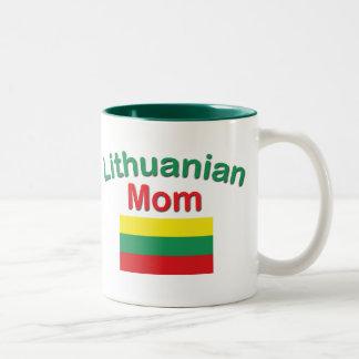 リトアニアのお母さん ツートーンマグカップ