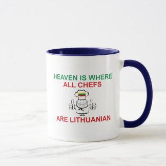 リトアニアのシェフ マグカップ