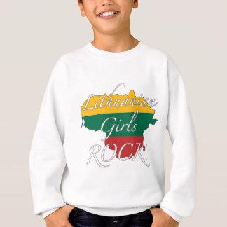 リトアニアの女の子の石! スウェットシャツ