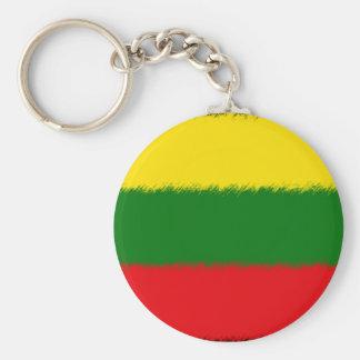 リトアニアの旗 キーホルダー
