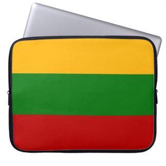 リトアニアの旗 ラップトップスリーブ