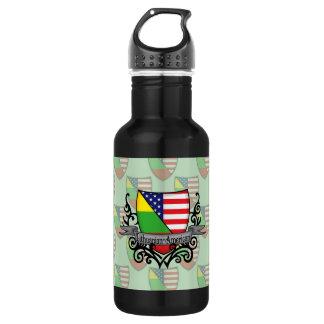 リトアニアアメリカの盾の旗 ウォーターボトル