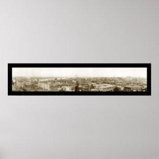 リトルロックのアーカンソーの写真1910年 ポスター
