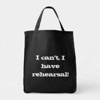 リハーサルのバッグ トートバッグ