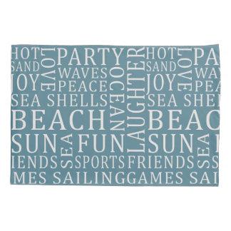リバーシブルのカスタムな色のビーチハウスの枕カバー 枕カバー