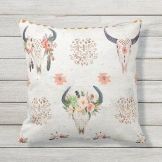 リバーシブルの屋外の枕、南西スタイル クッション