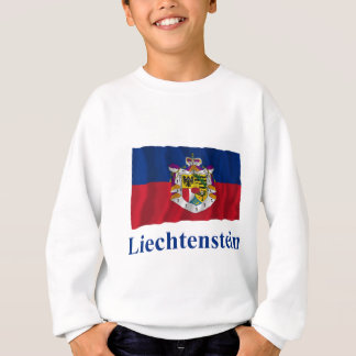リヒテンシュタインの名前の振る州の旗 スウェットシャツ